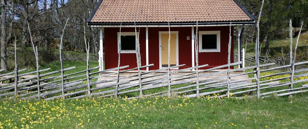 The cottage at Lägerplatsen